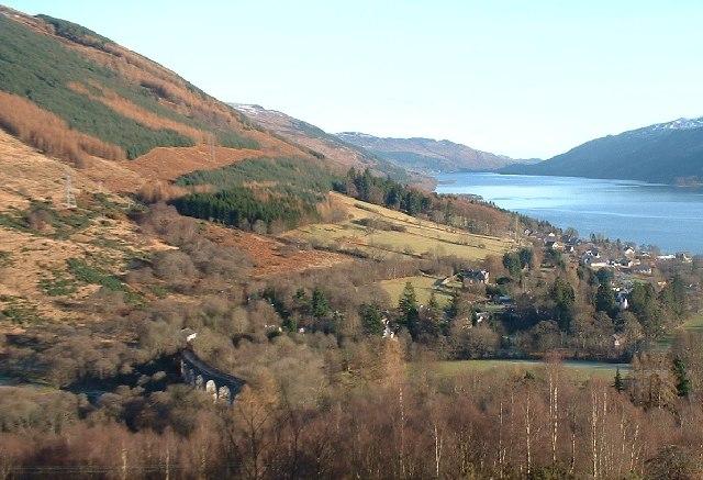 Glen Ogle Viaduct - geograph.org.uk - 99112