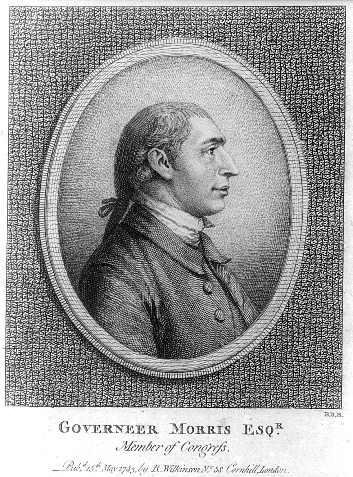 Pierre Eugène Du Simitière: Gouverneur Morris