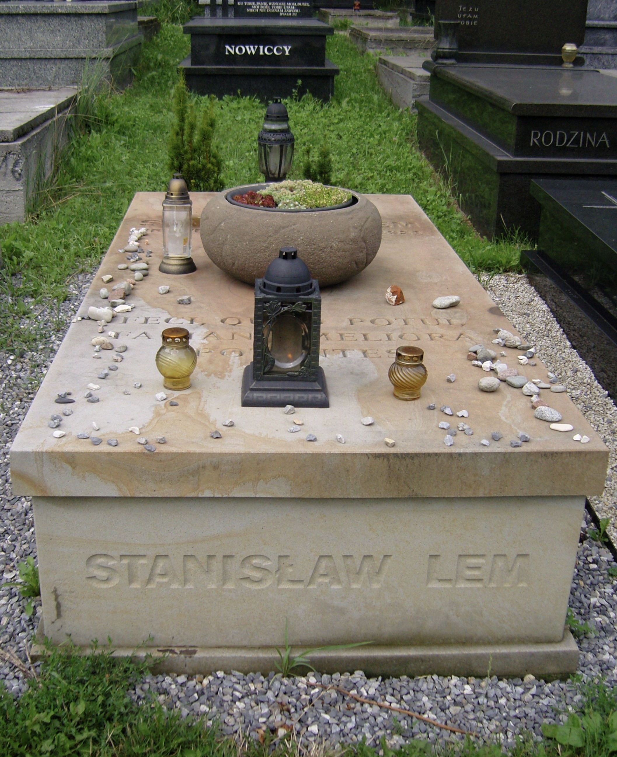 Hrob Stanisława Lema v Krakově