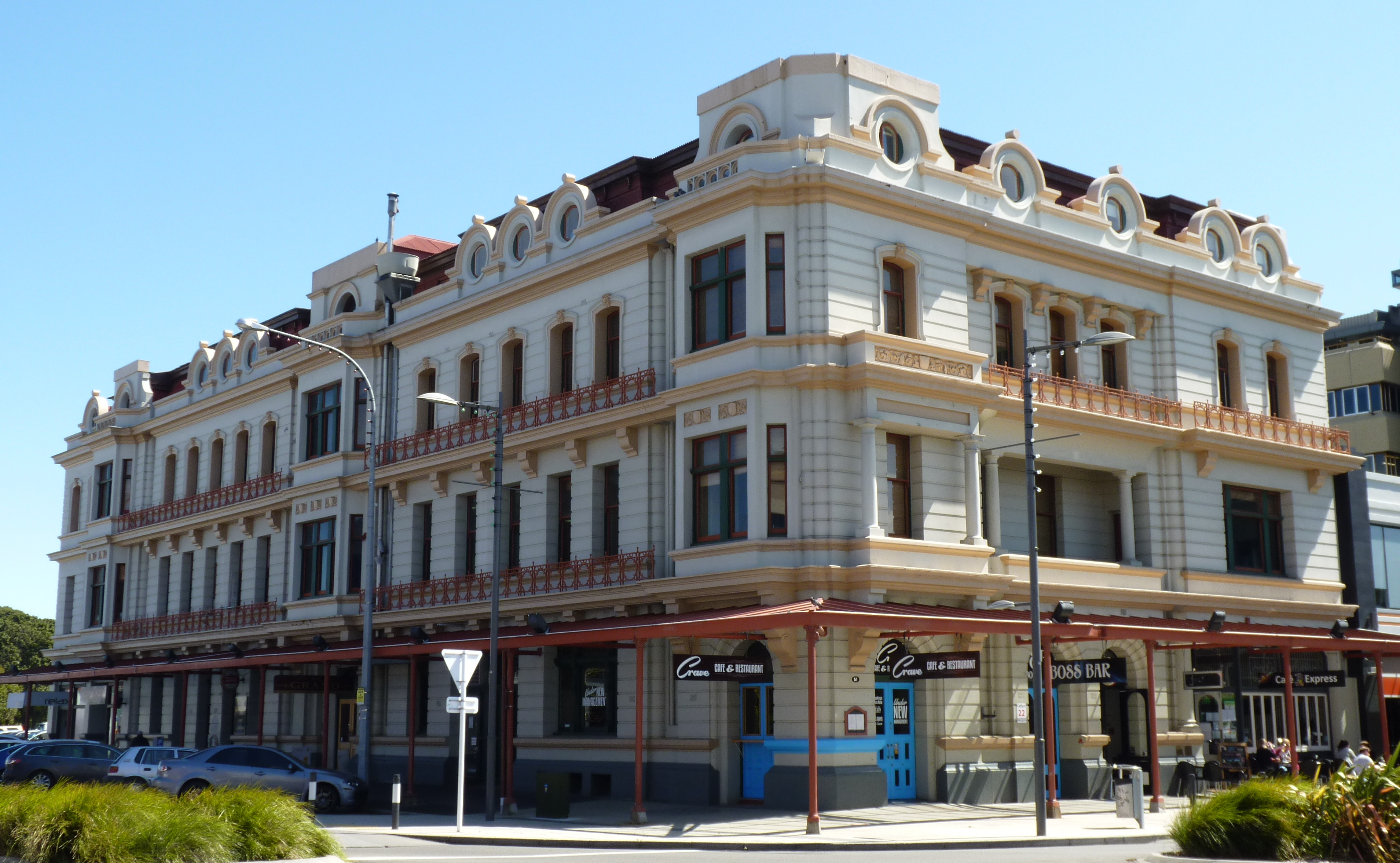 File Grand Hotel Building  Palmerston North  New Zealand