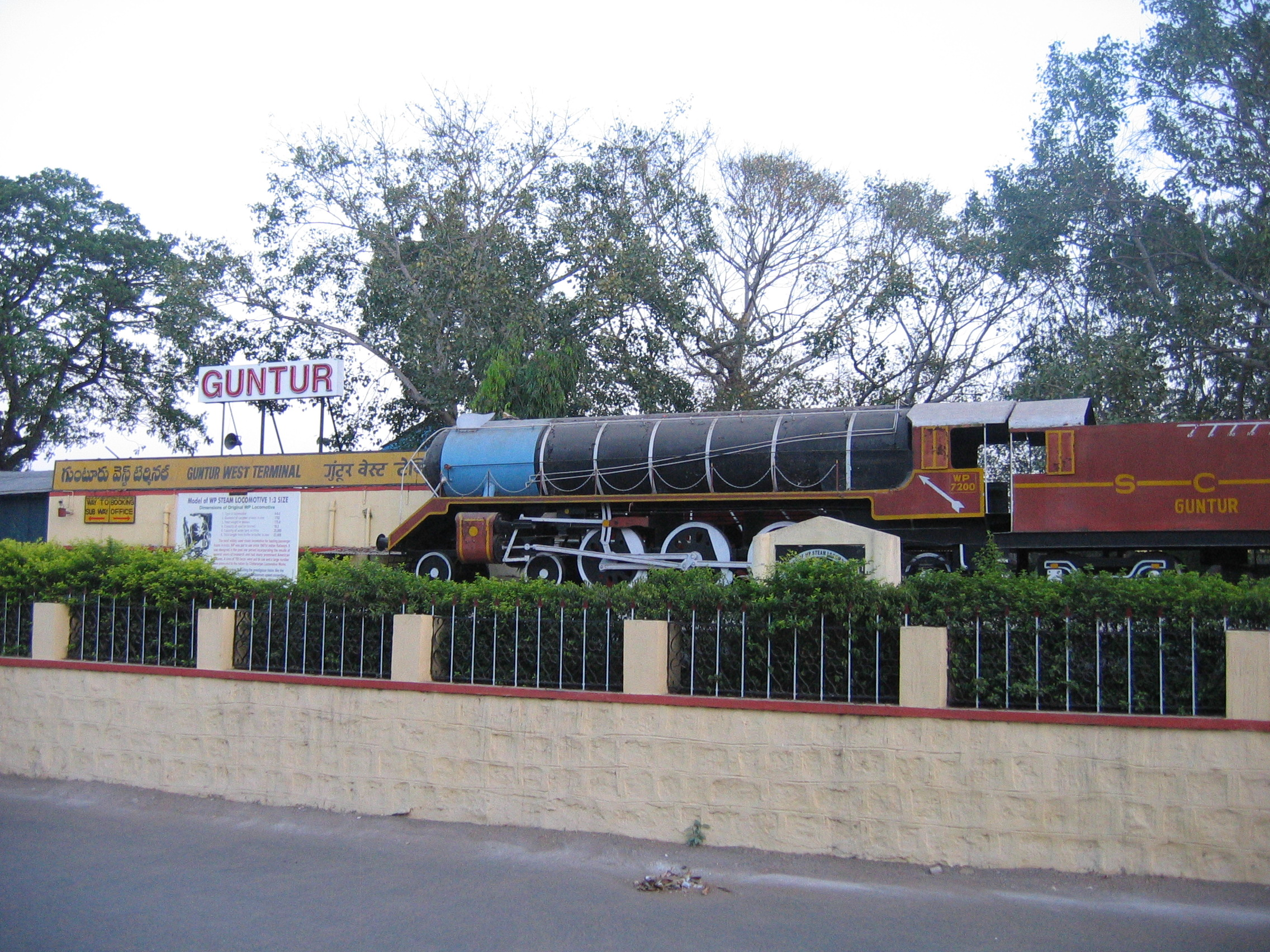 Fileguntur West Terminal And A Model Train Wikimedia Commons St 480 Wiring Diagram