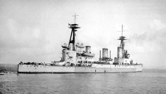 HMS Indefatigable (1909) - Wikipedia