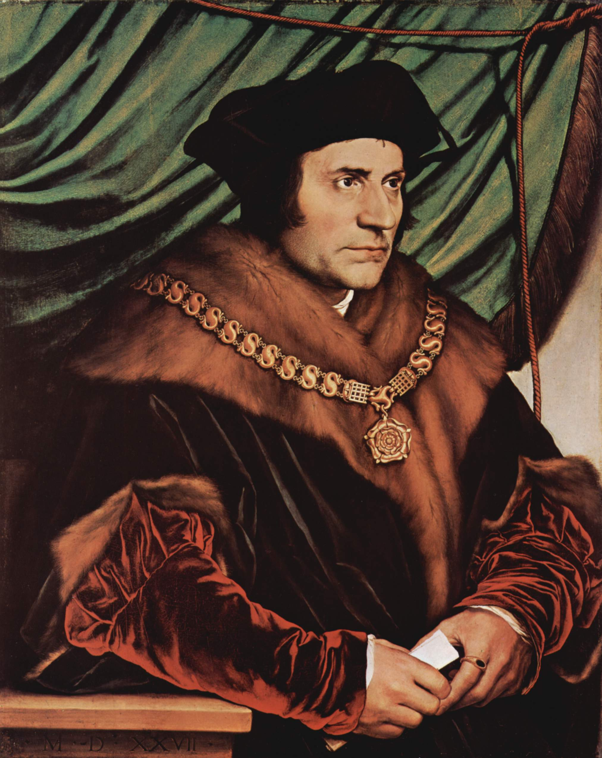 HOLBEIN, Hans the Younger  Sir Thomas More 1527