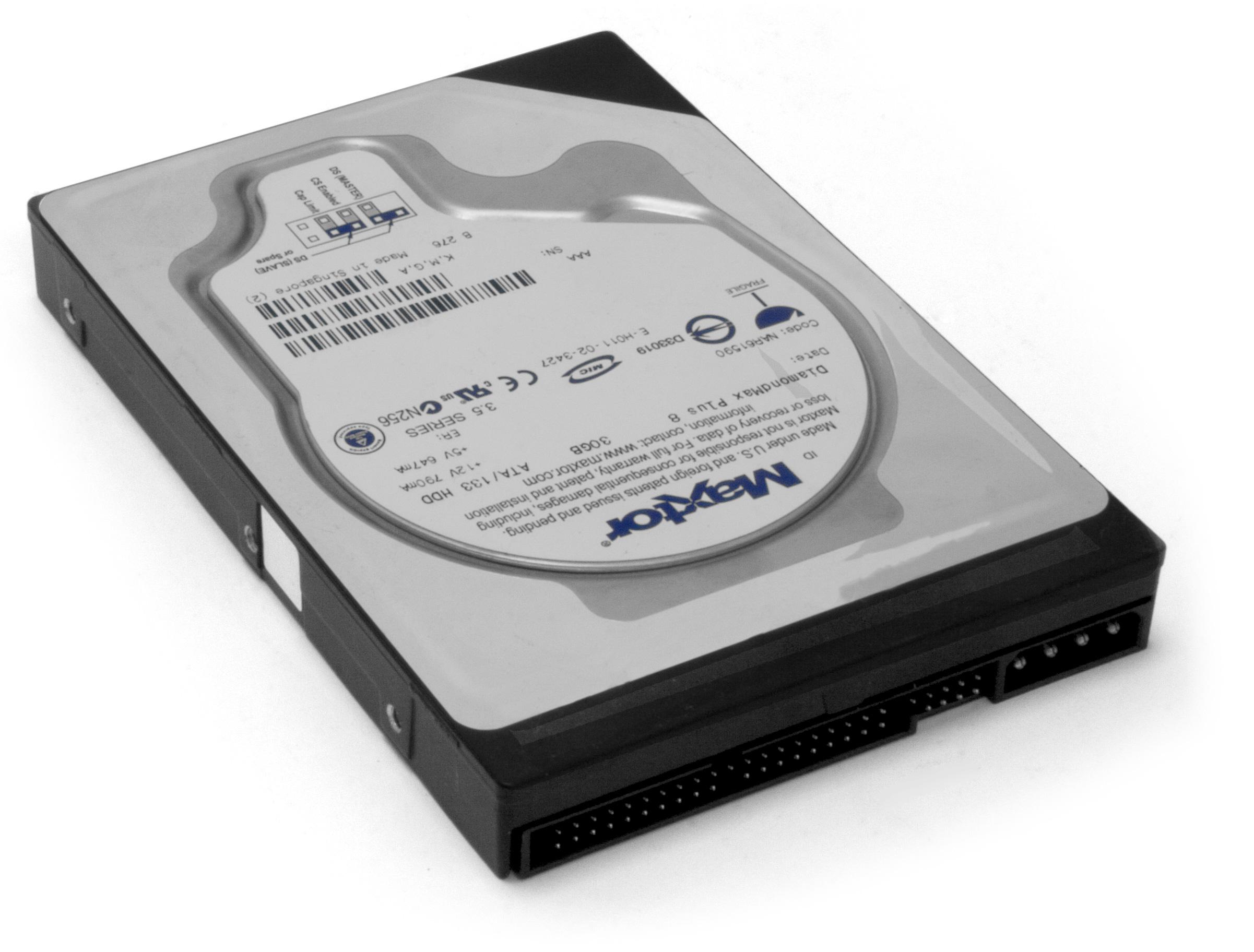 Maxtor hard drive is an obsolete hard drive brand