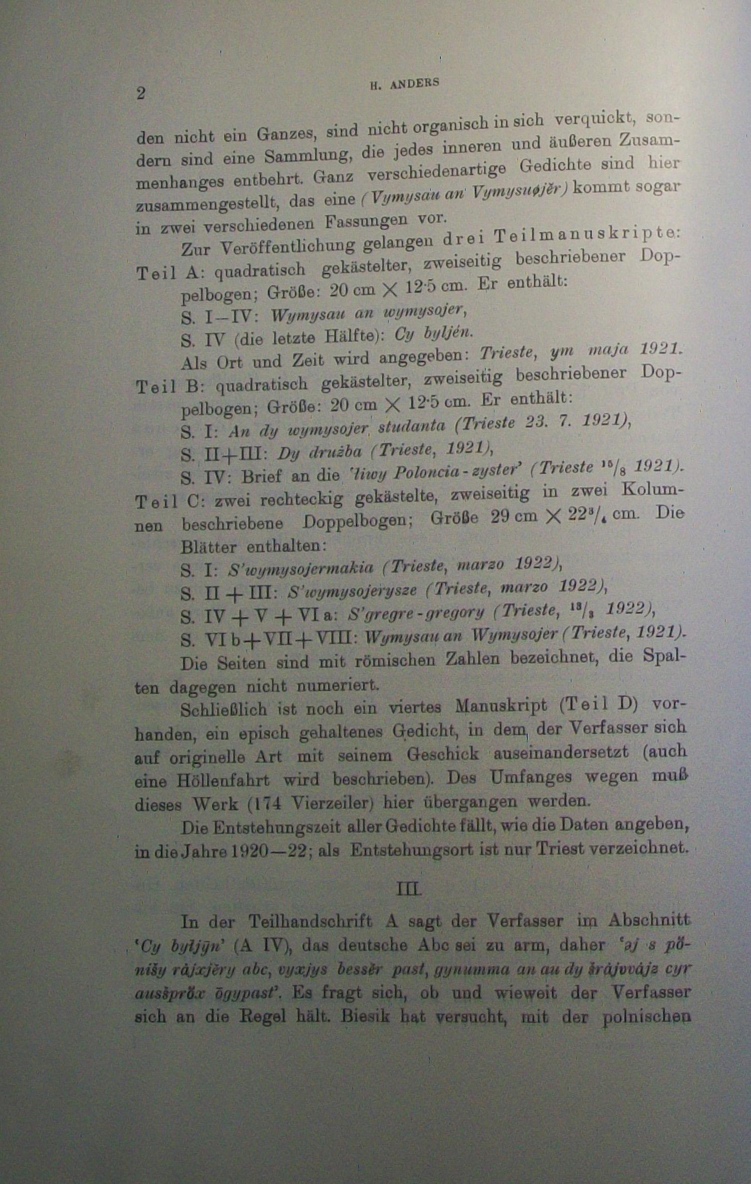 Fileheinrich Anders Gedichte Von Florian Biesik In Der