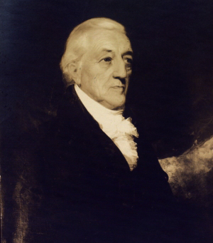 Oil painting of Revolutionary War hero and philanthropist, Colonel Henry Rutgers (1745–1830), early benefactor and namesake of Rutgers University