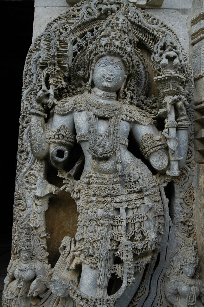 File hoysala stone sculpture g wikimedia commons