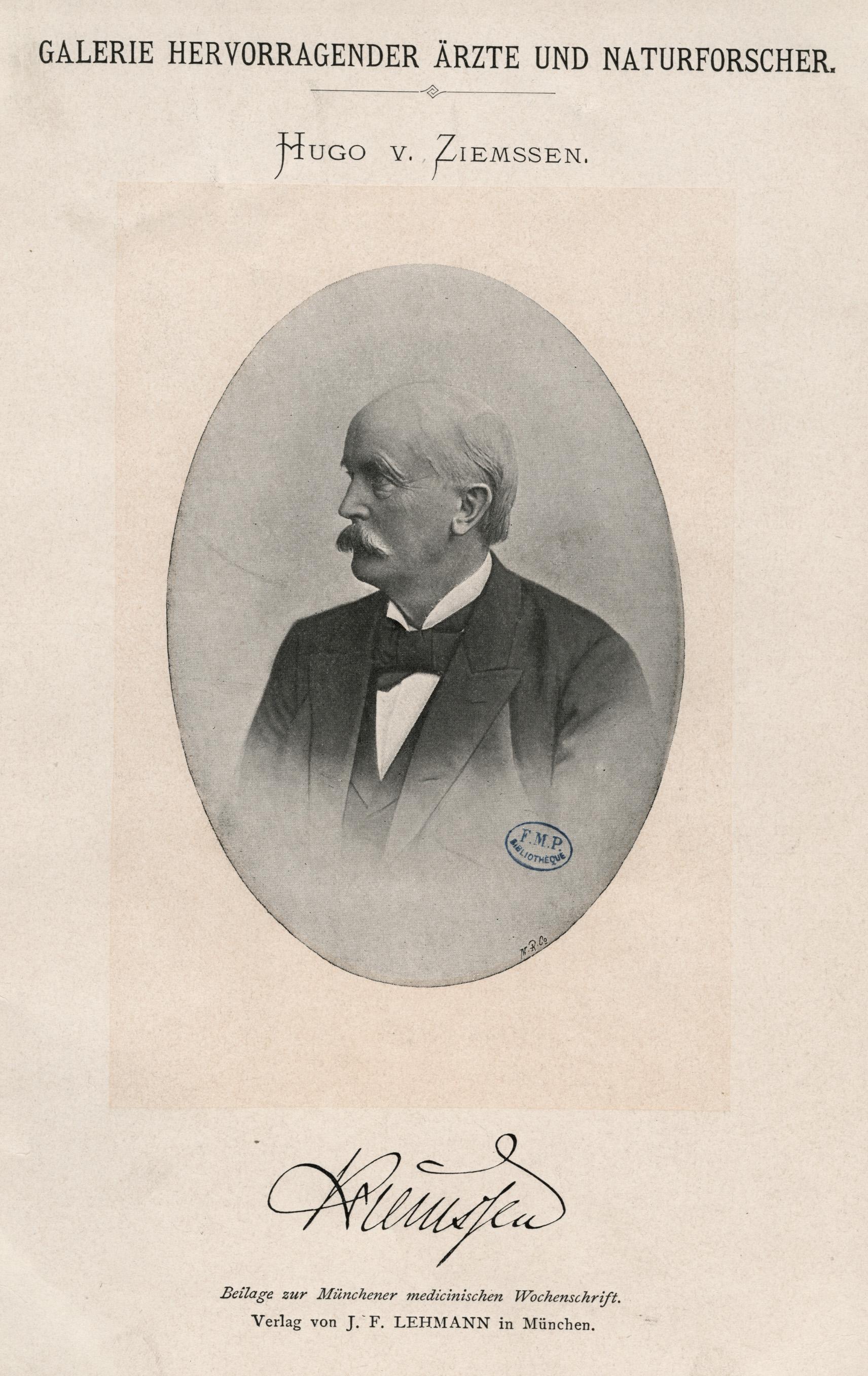Hugo Wilhelm von Ziemssen