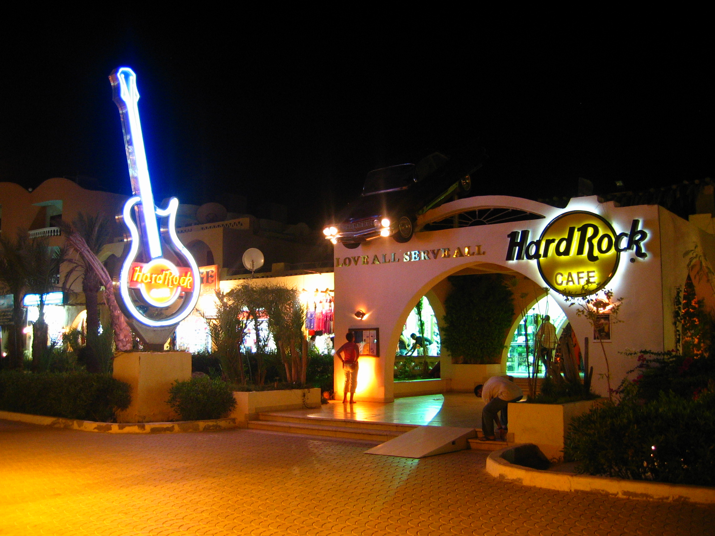 Hard Rock Cafe George Town Grand Cayman Cayman Islands