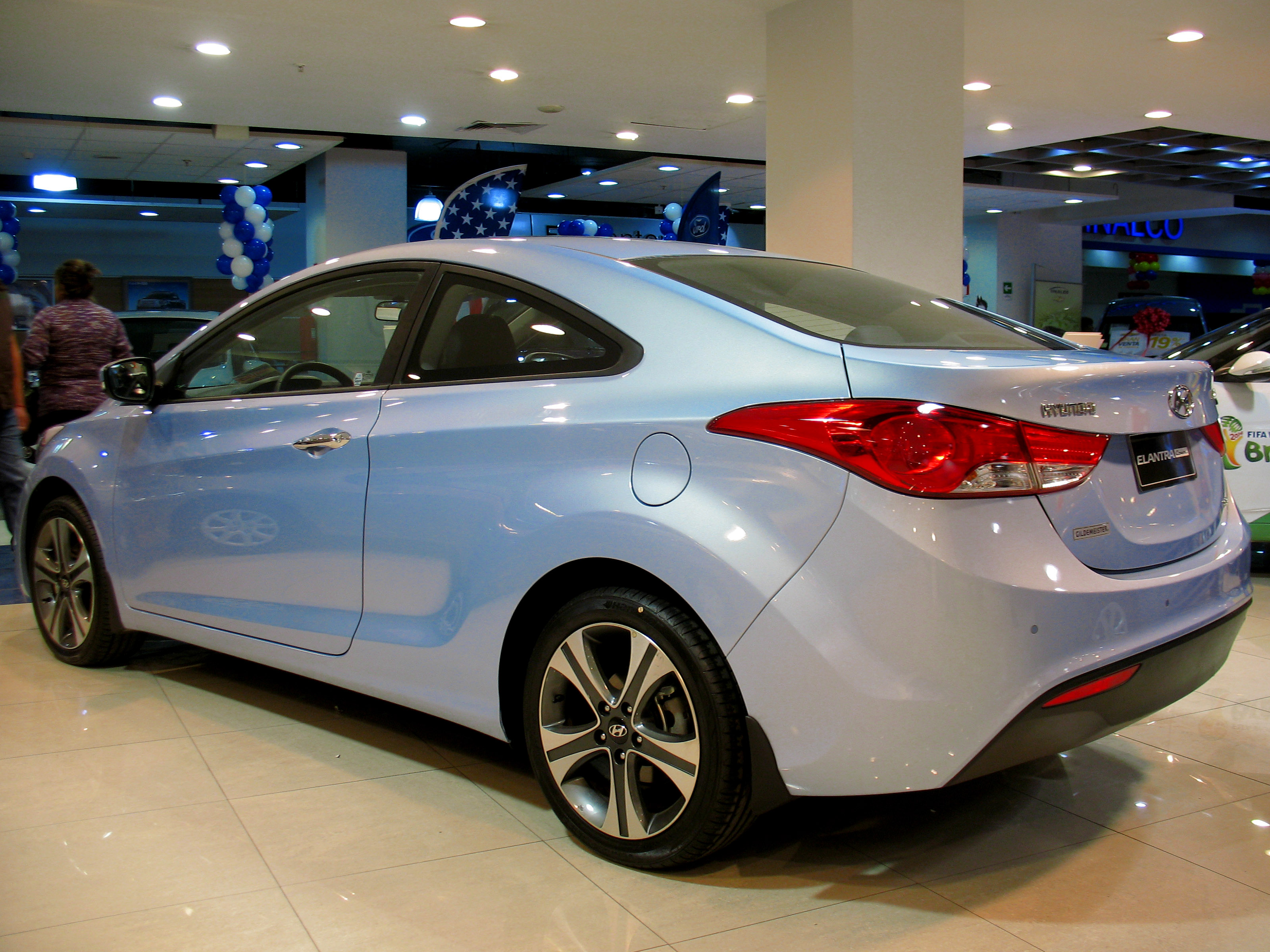 hyundai elantra coupe modified the image kid has it. Black Bedroom Furniture Sets. Home Design Ideas