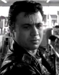 Robert Blake in de trailer van Cold Blood