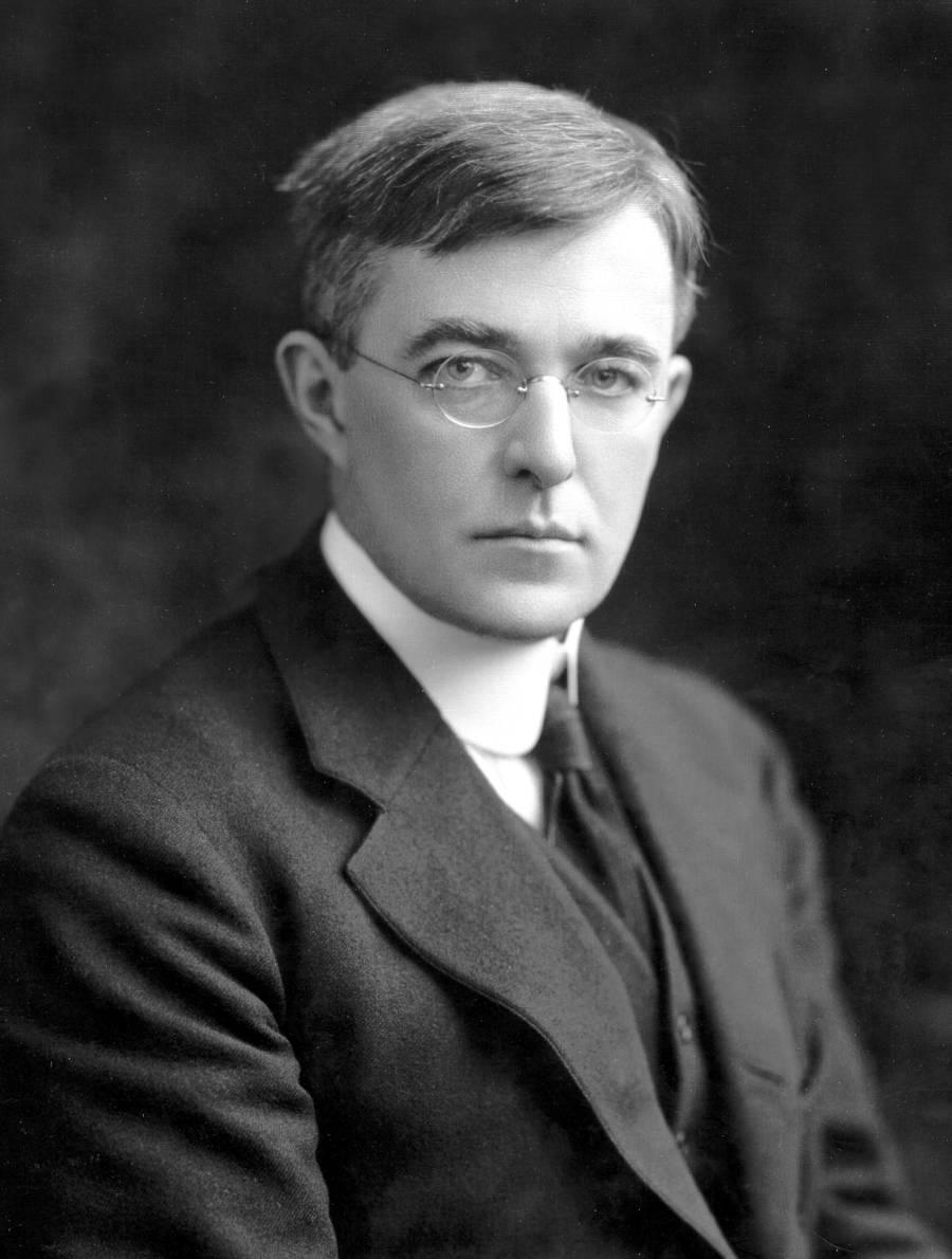 Depiction of Irving Langmuir