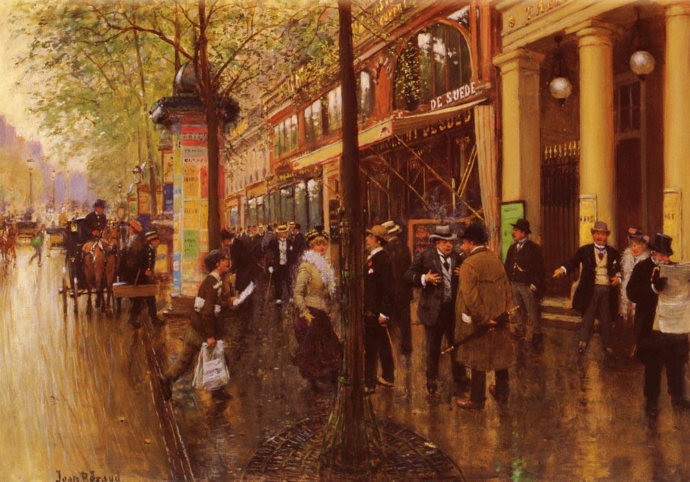 Cafe Belle Madeleine Paris