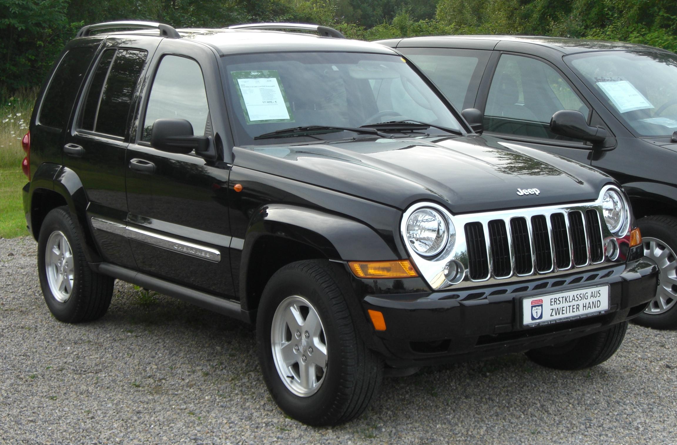 Jeep cherokee 2.8 crd 2008