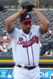 John Smoltz has made four Opening Day starts for the Braves.