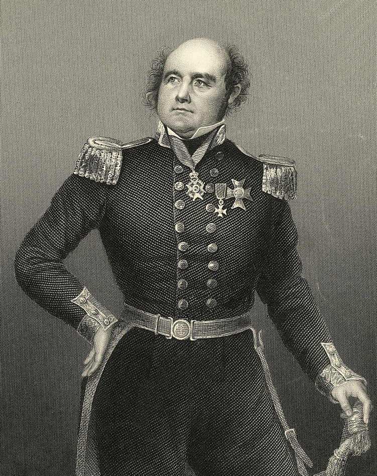 Le contre-amiral Sir John Franklin.