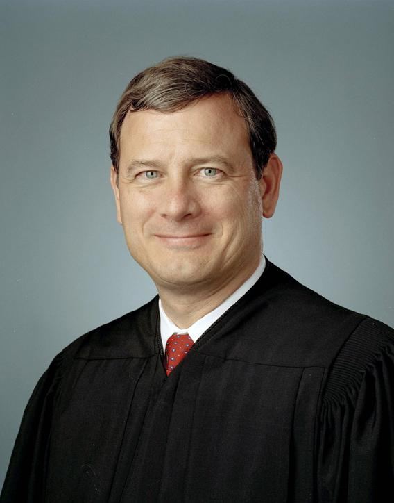 John Roberts as a judge of the U.S. Court of A...