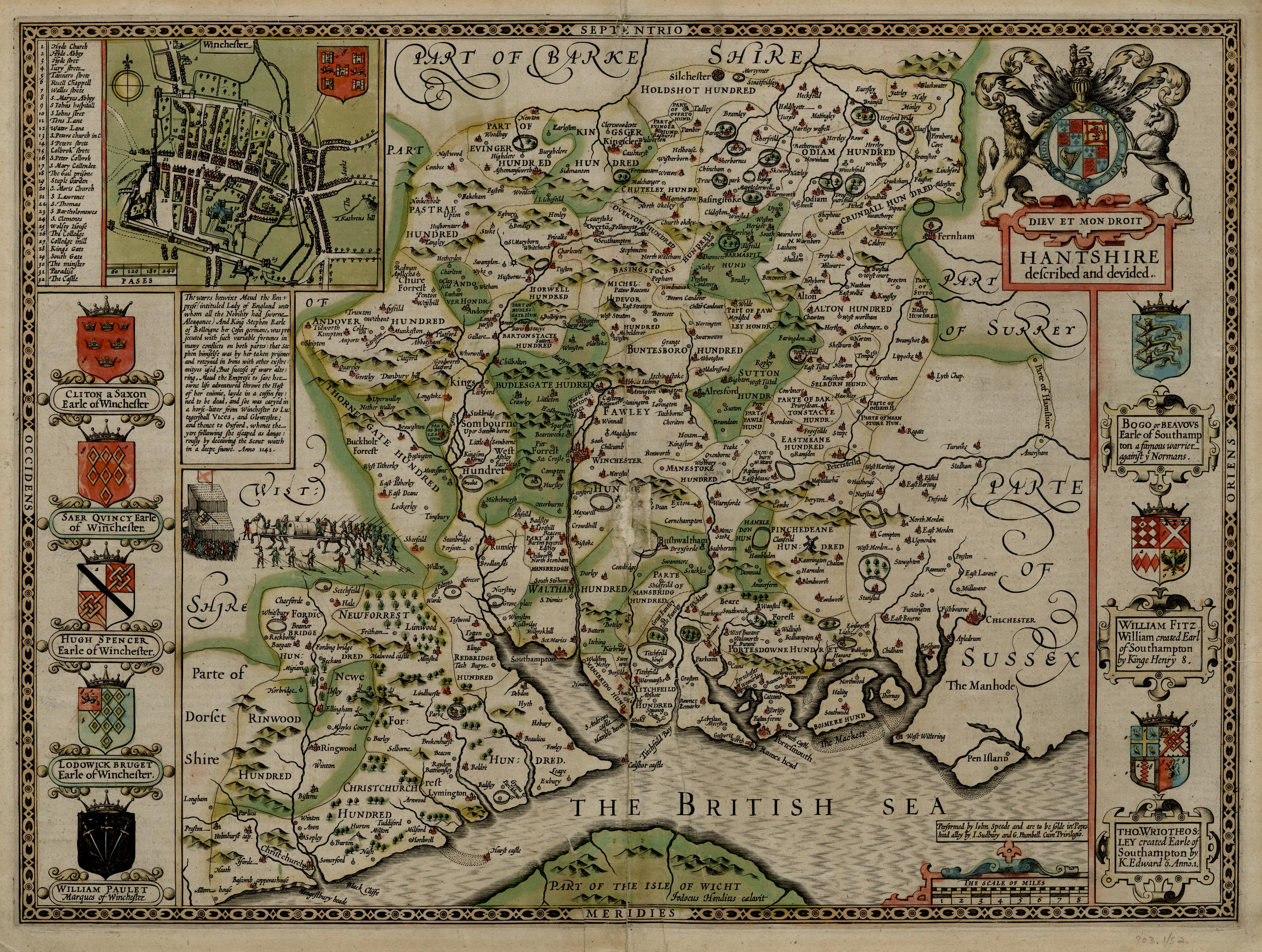 John Speed Maps File:John Speed   Map of Hampshire.   Wikimedia Commons