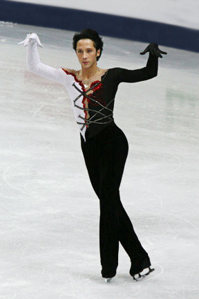 2008 World Championships. Johnny Weir