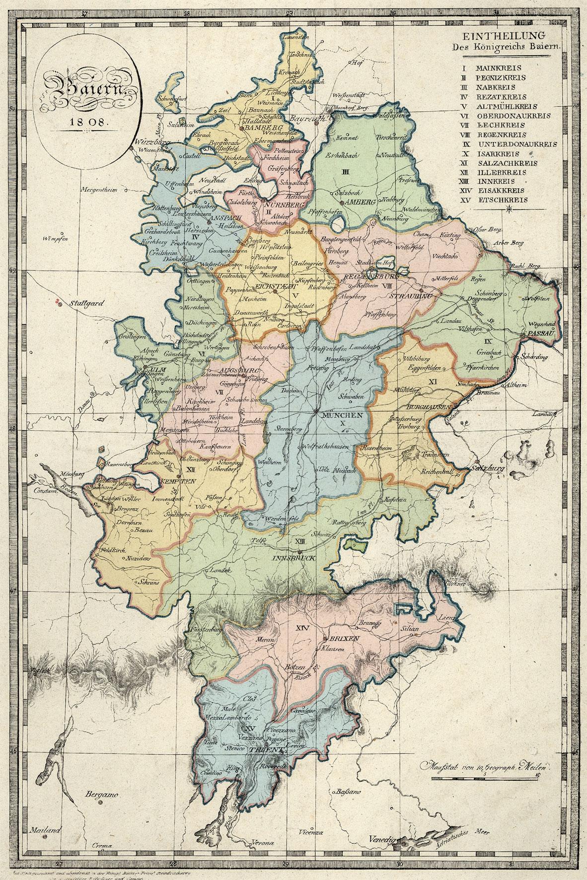 Historische Städte Bayern