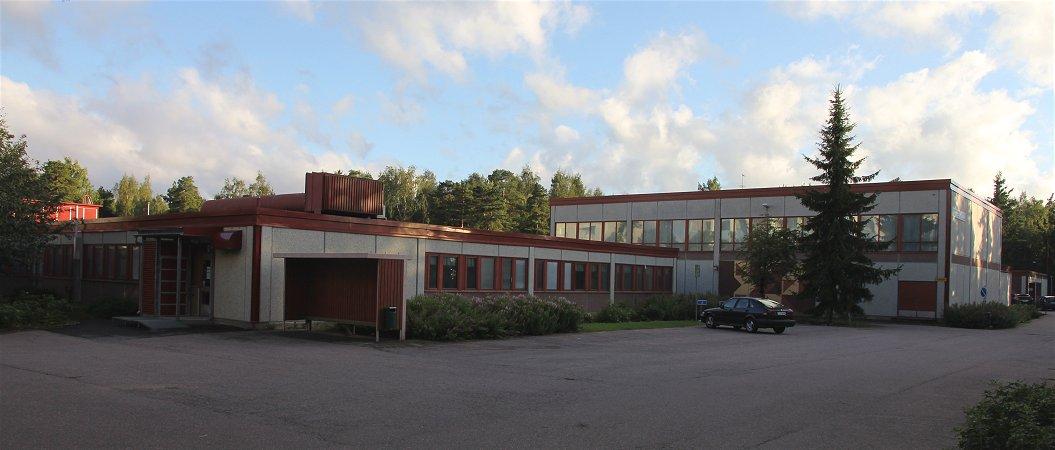 Kivimäen koulu Martinlaaksossa
