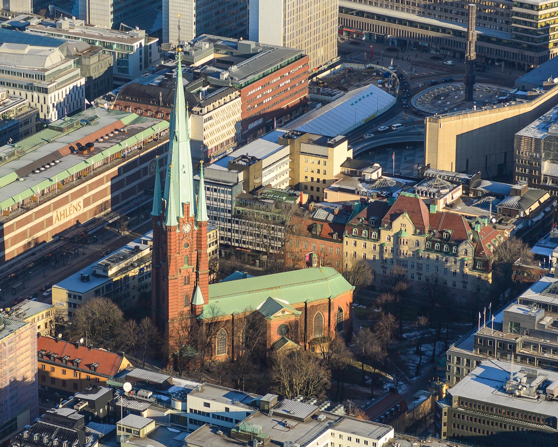 Bild av Klara kyrka