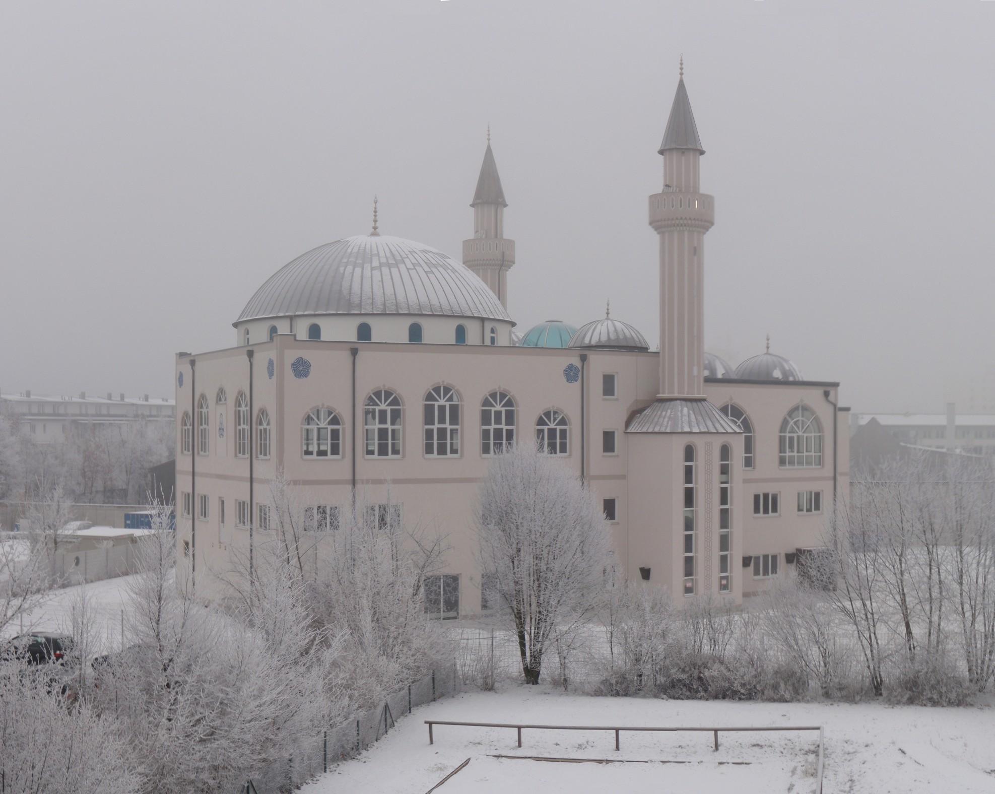 File Kocatepe Moschee Ingolstadt 16 01 2009 Jpg Wikimedia Commons