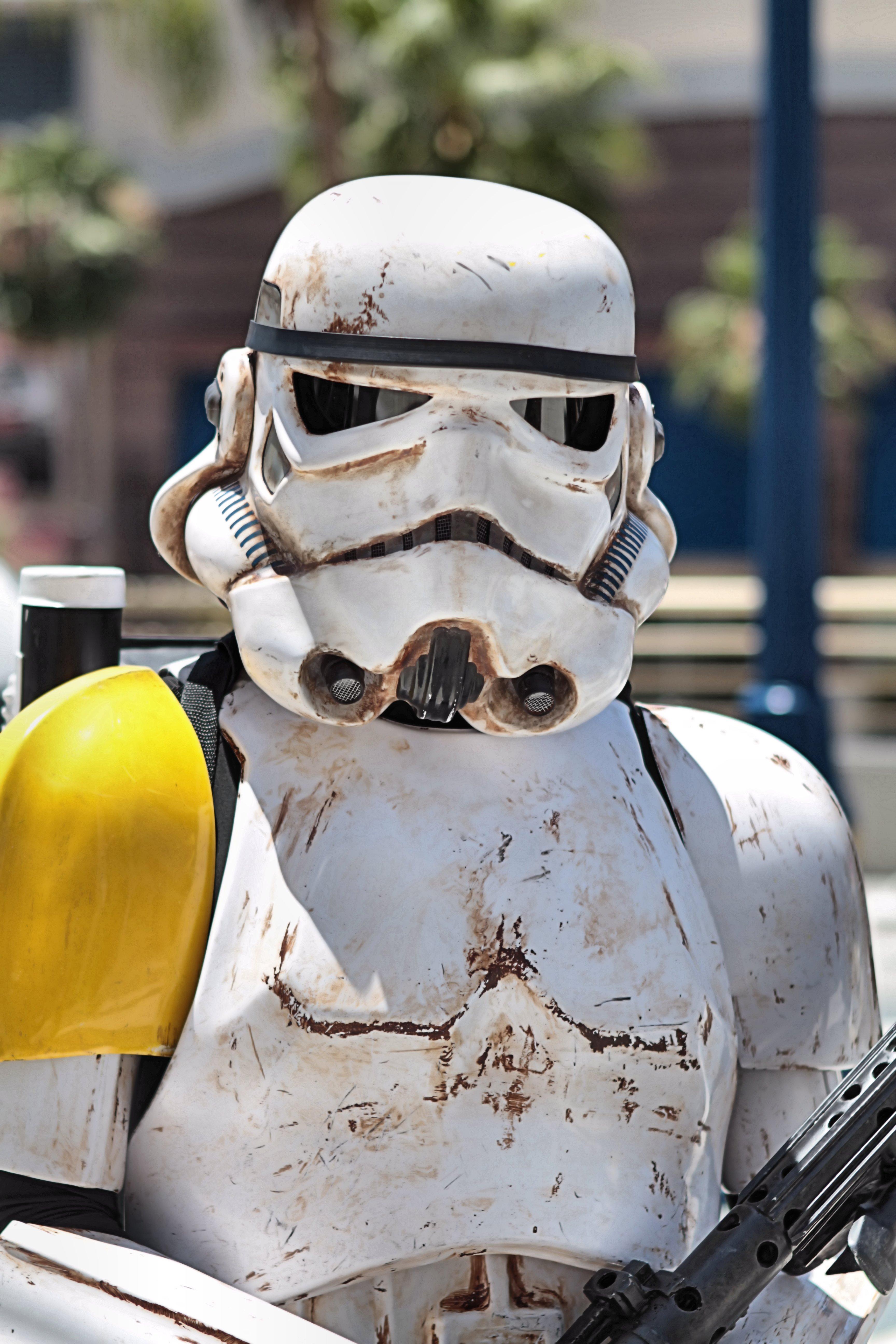 Depiction of Efecto stormtrooper