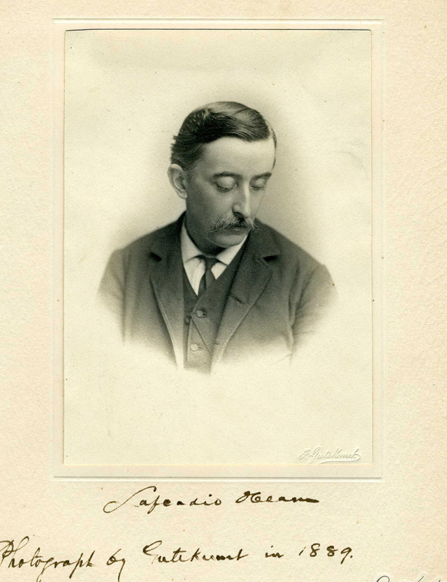 Lafcadio Hearn, aka Koizumi Yakumo.