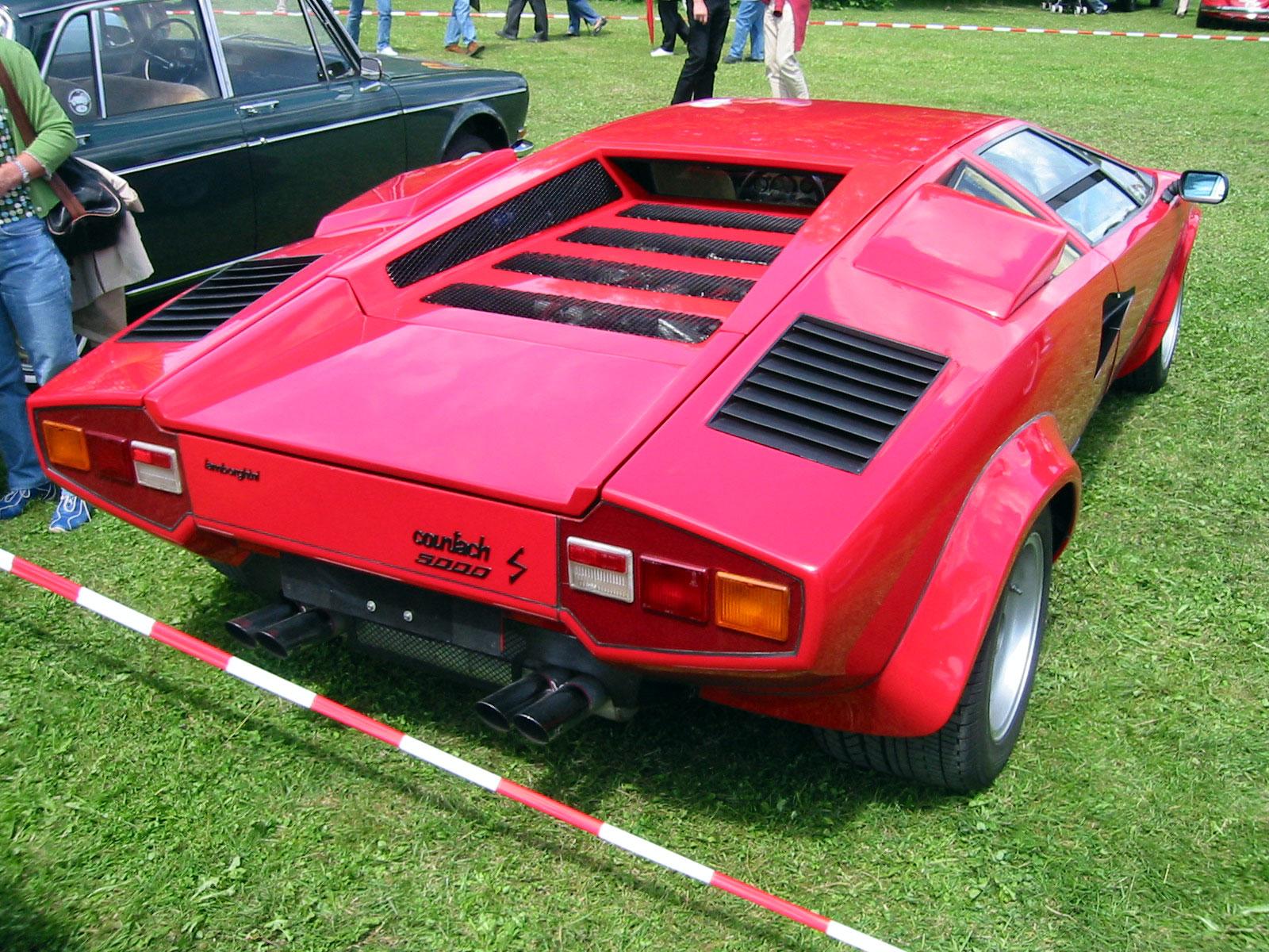File Lamborghini Countach 5000s Rear Jpg Wikimedia Commons