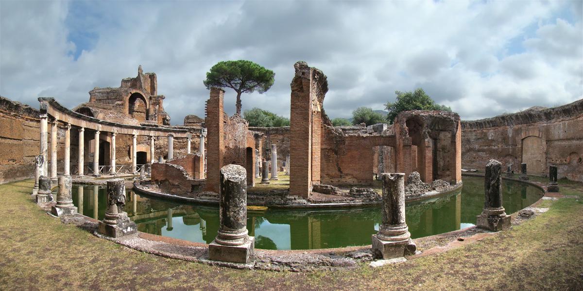 Risultati immagini per villa adriana tivoli