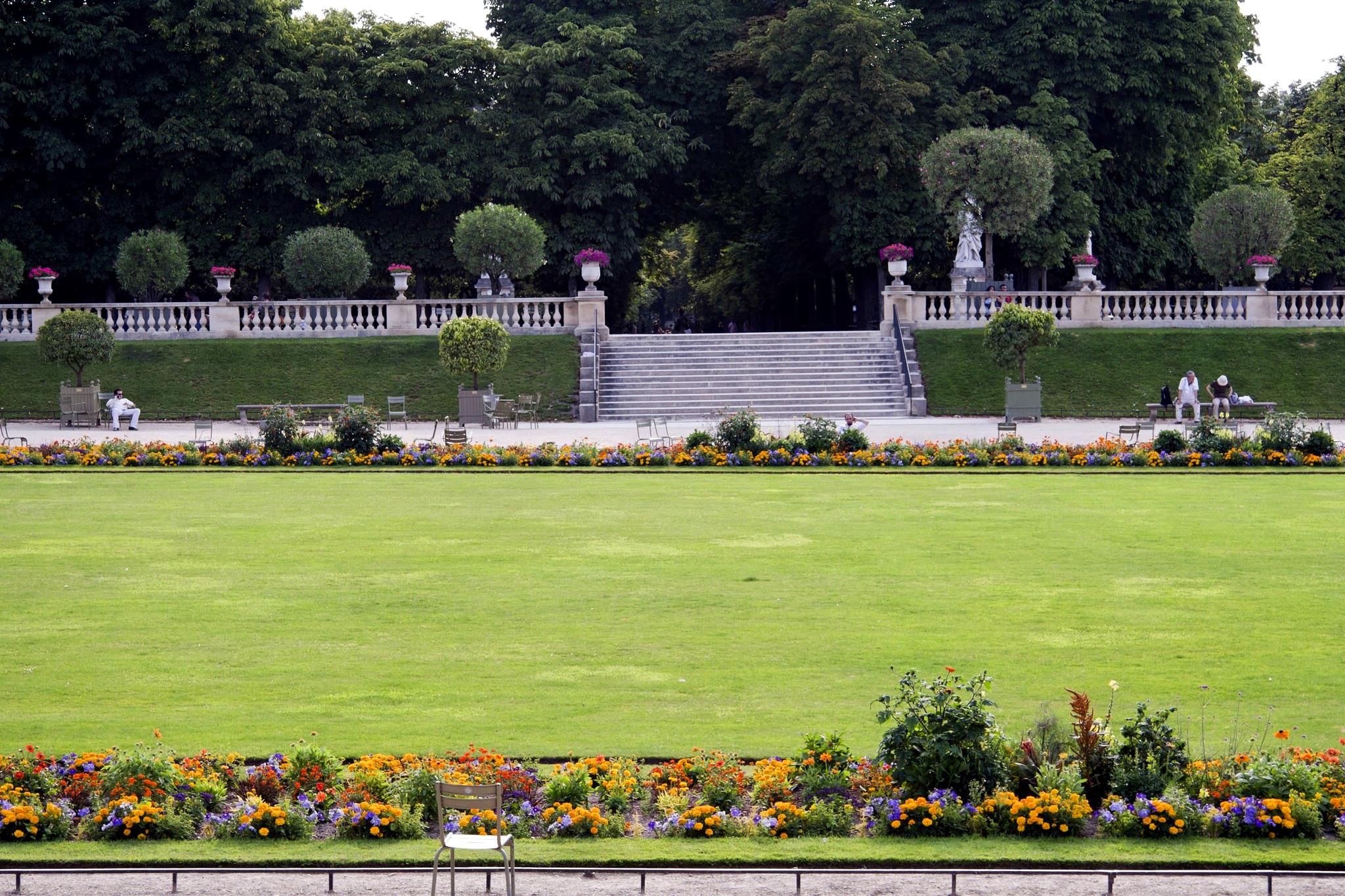 Unique le jardin du luxembourg sabakunohana for Le jardin luxembourg