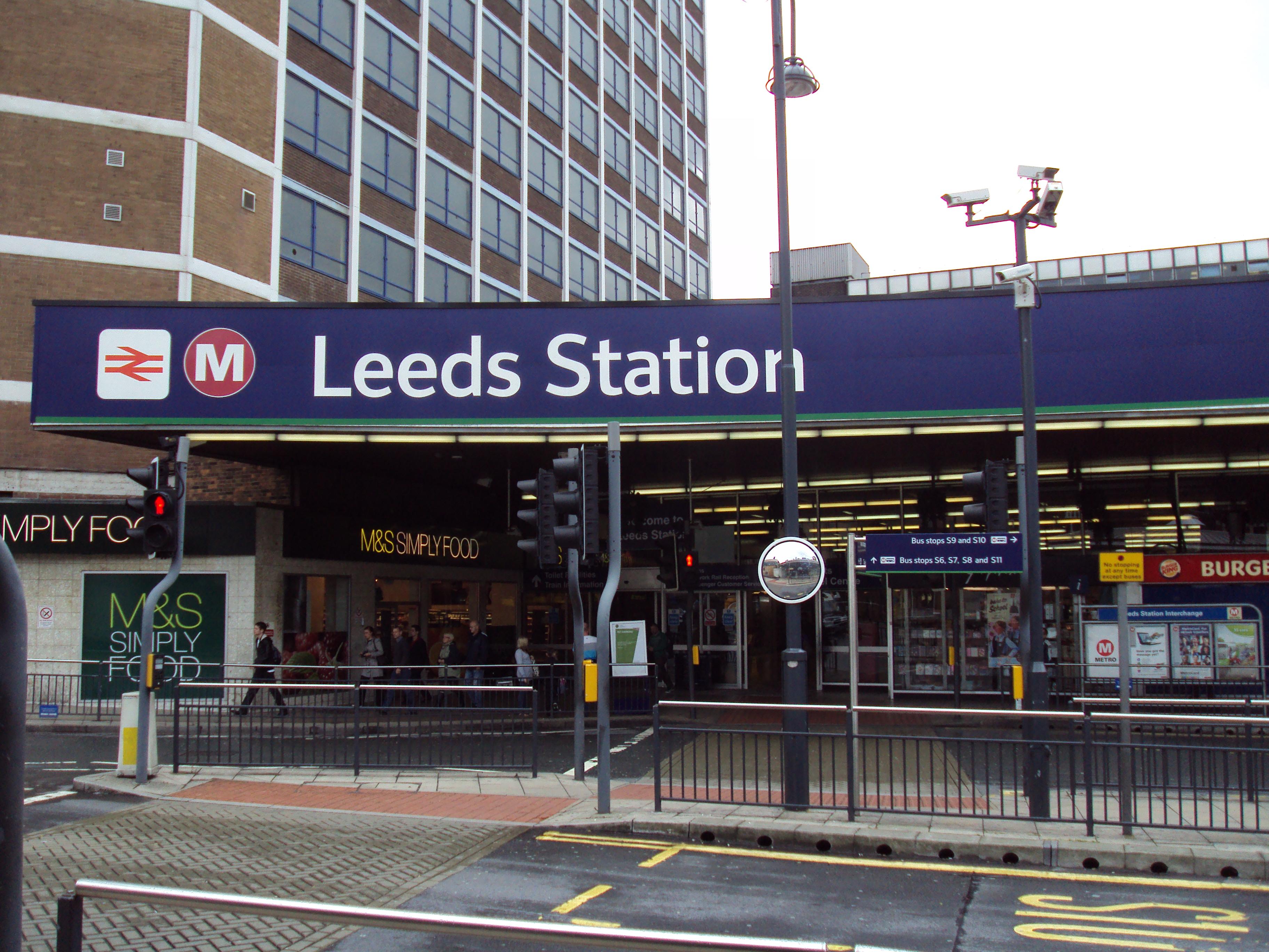 Remodel Software File Leeds Railway Station Frontage Dsc07511 Jpg