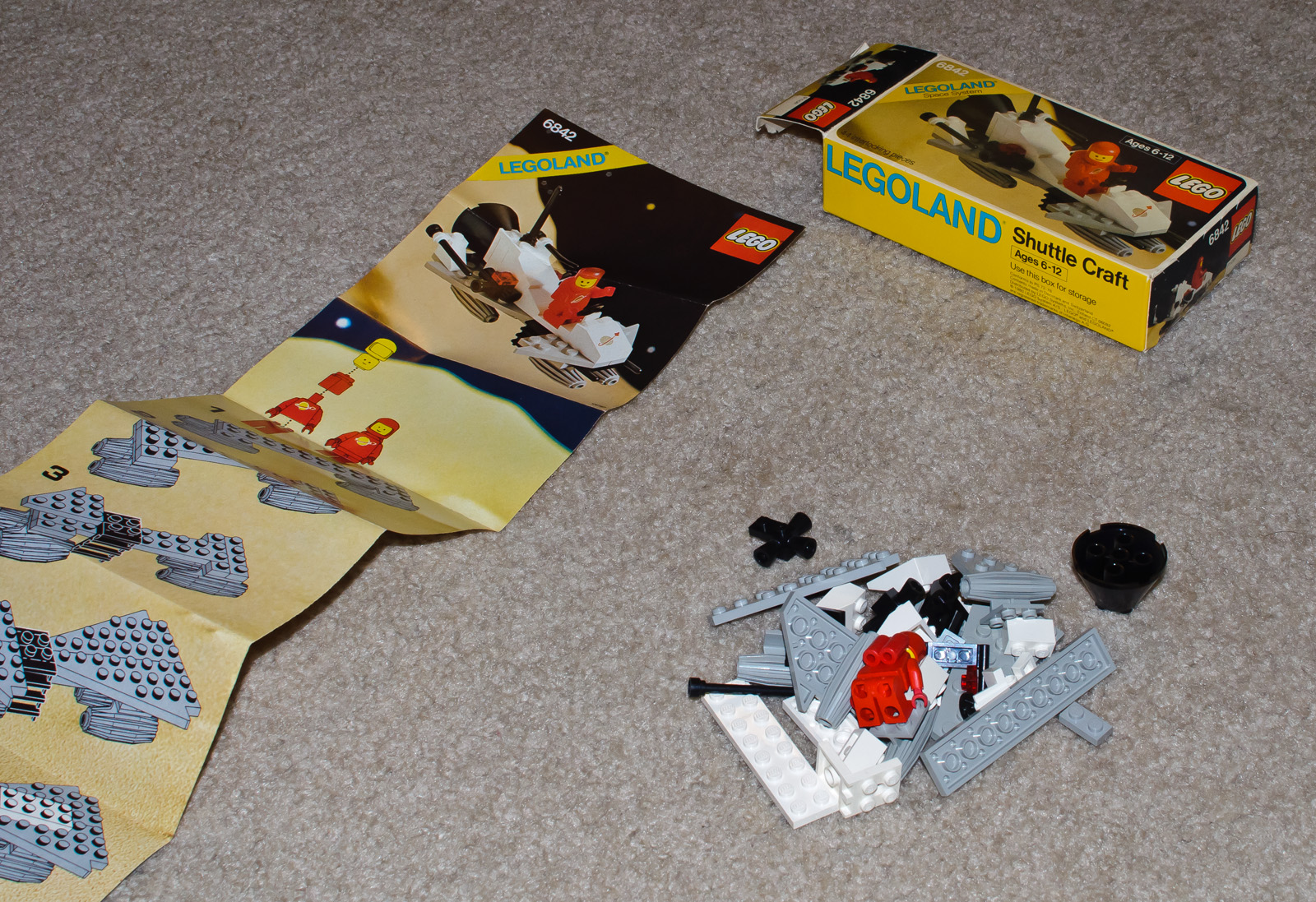 Description lego space set 6842 shuttle craft 7539329454