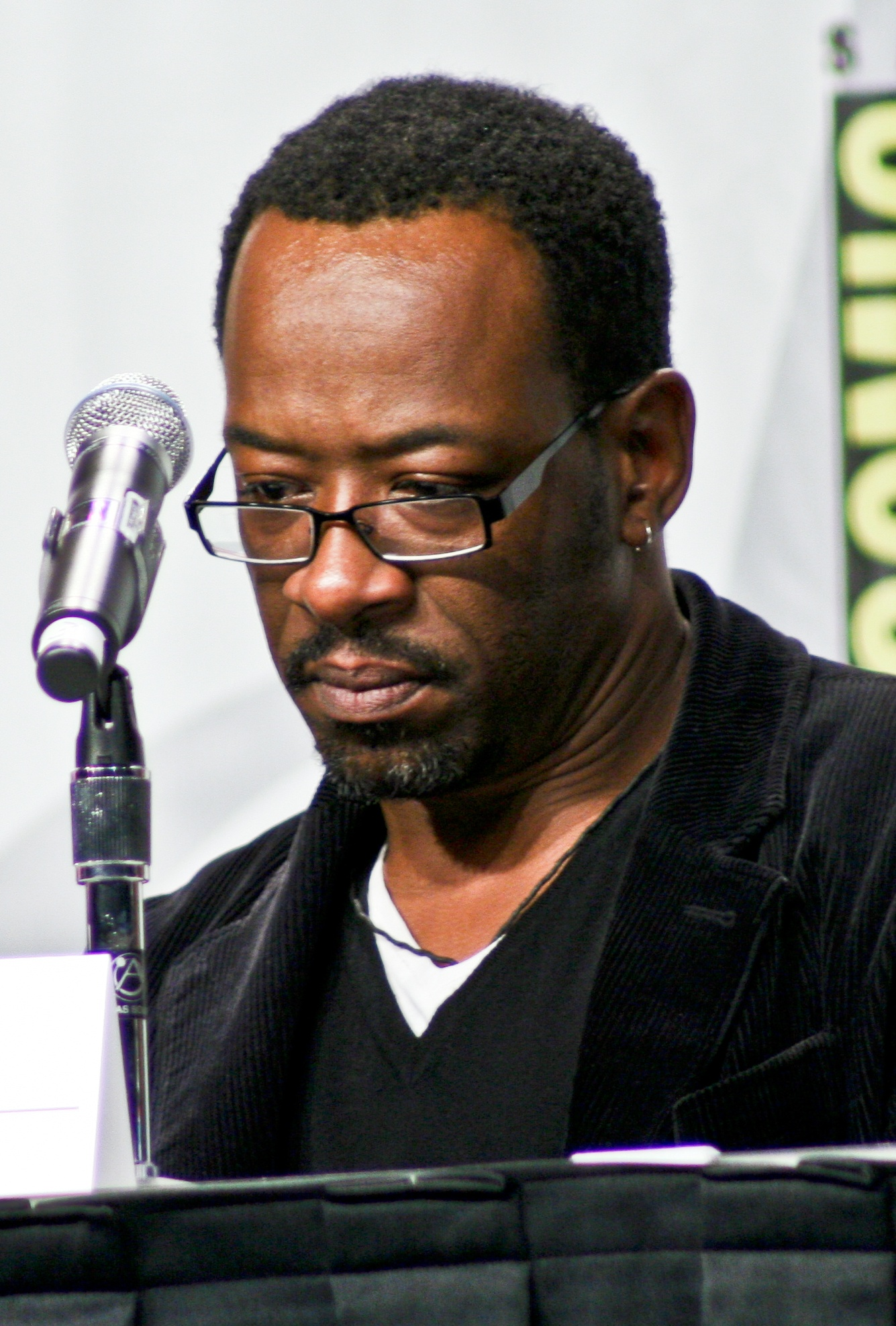 Lennie James at the San Diego Comic-Con in 2008.
