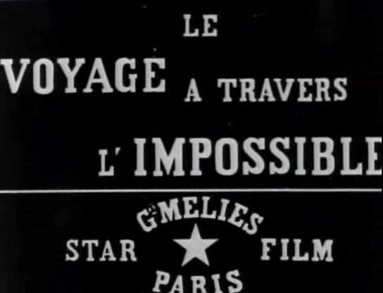 Picture of a movie: The Impossible Voyage