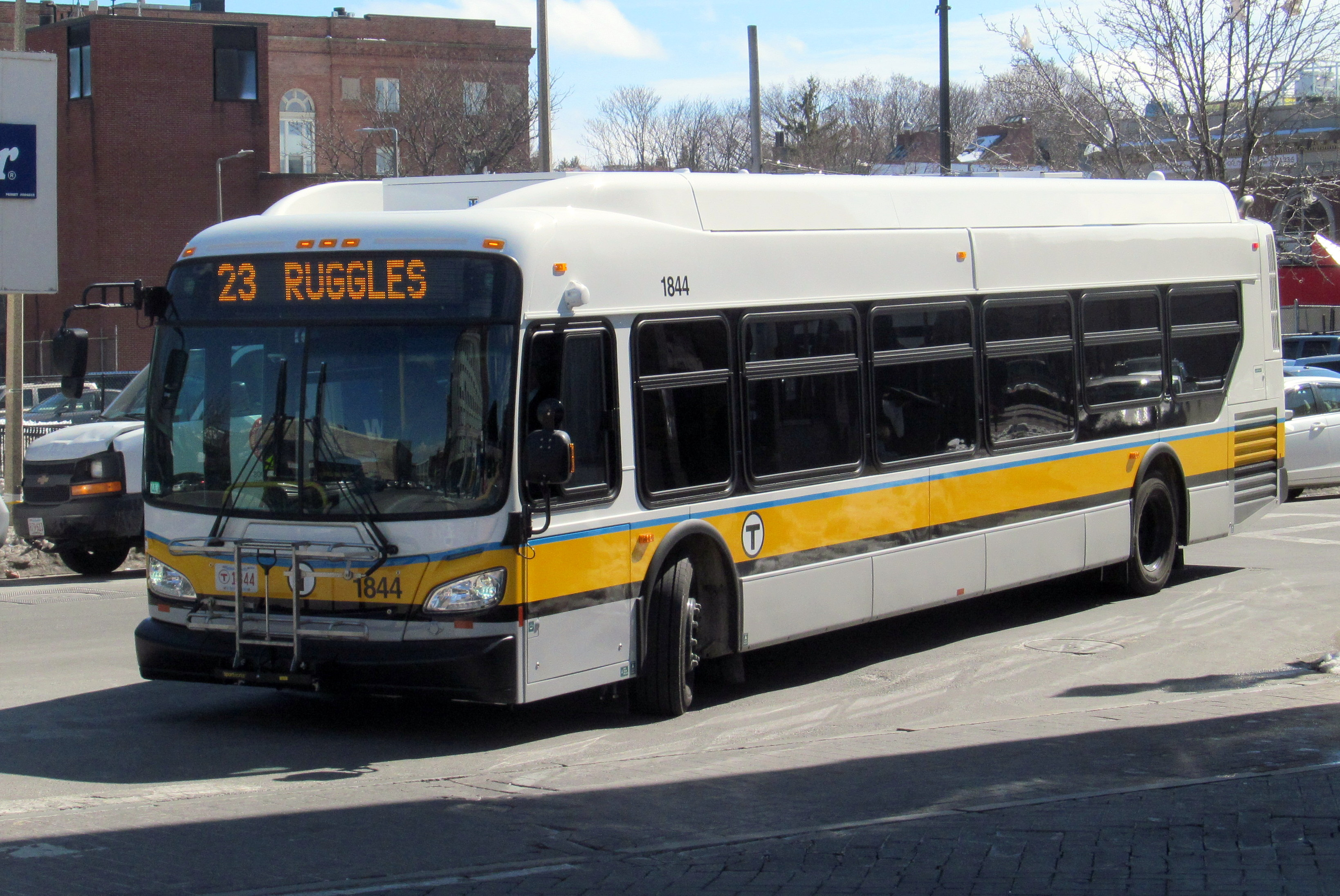 File Mbta Route 23 Bus At Dudley Street Terminal March