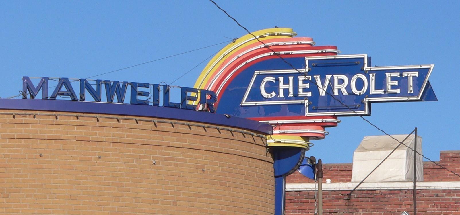 File Manweiler Chevrolet Sign 1 Jpg Wikimedia Commons