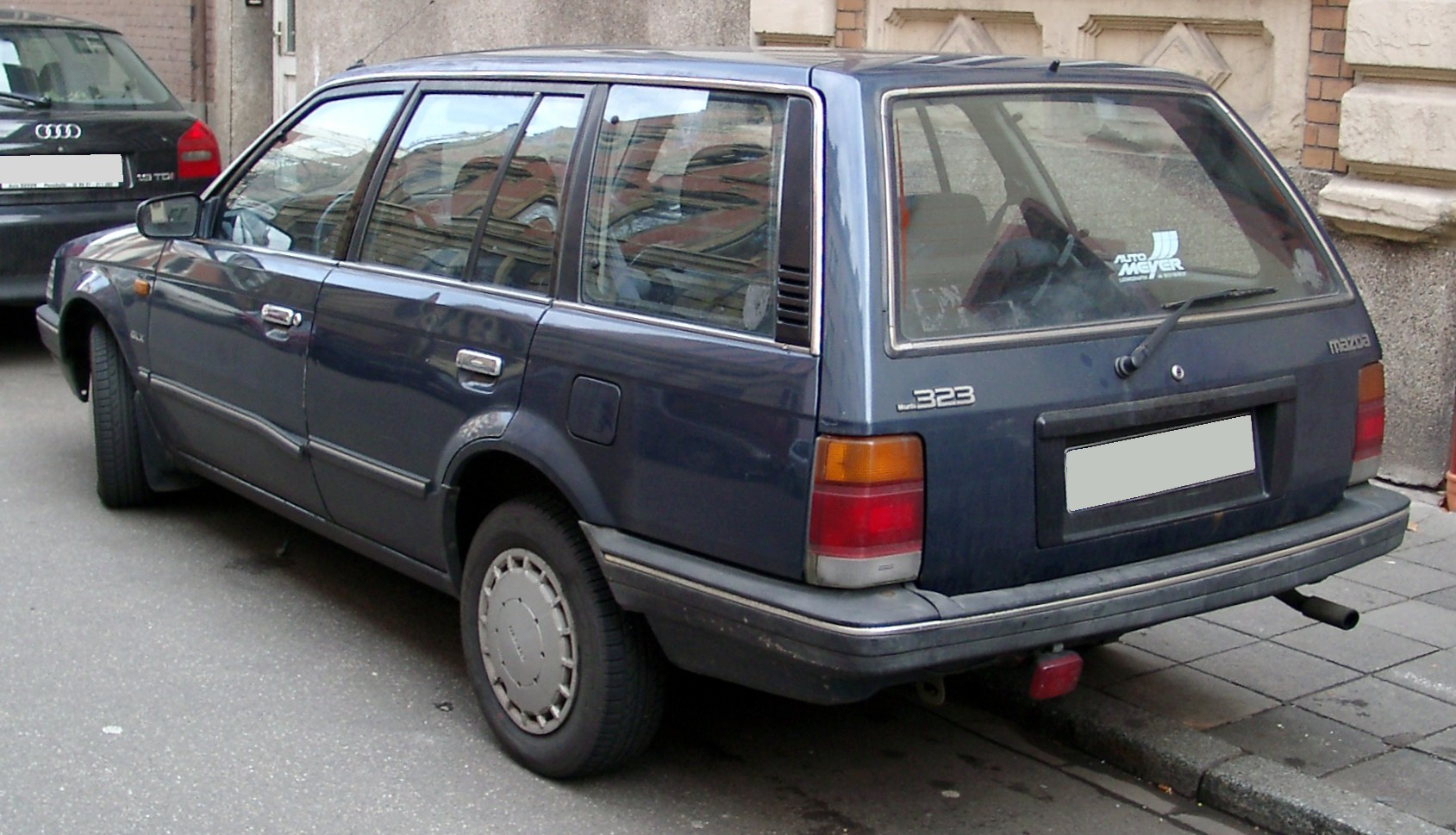 mazda 323 bf 1988 дизель