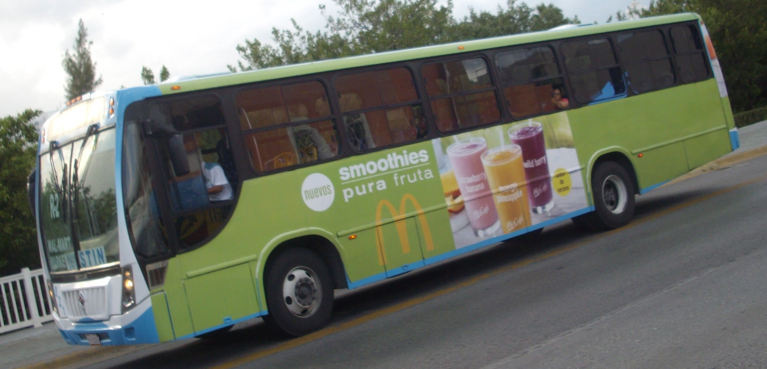 File:McDonald's Ad On Cancun Bus.JPG - Wikimedia Commons