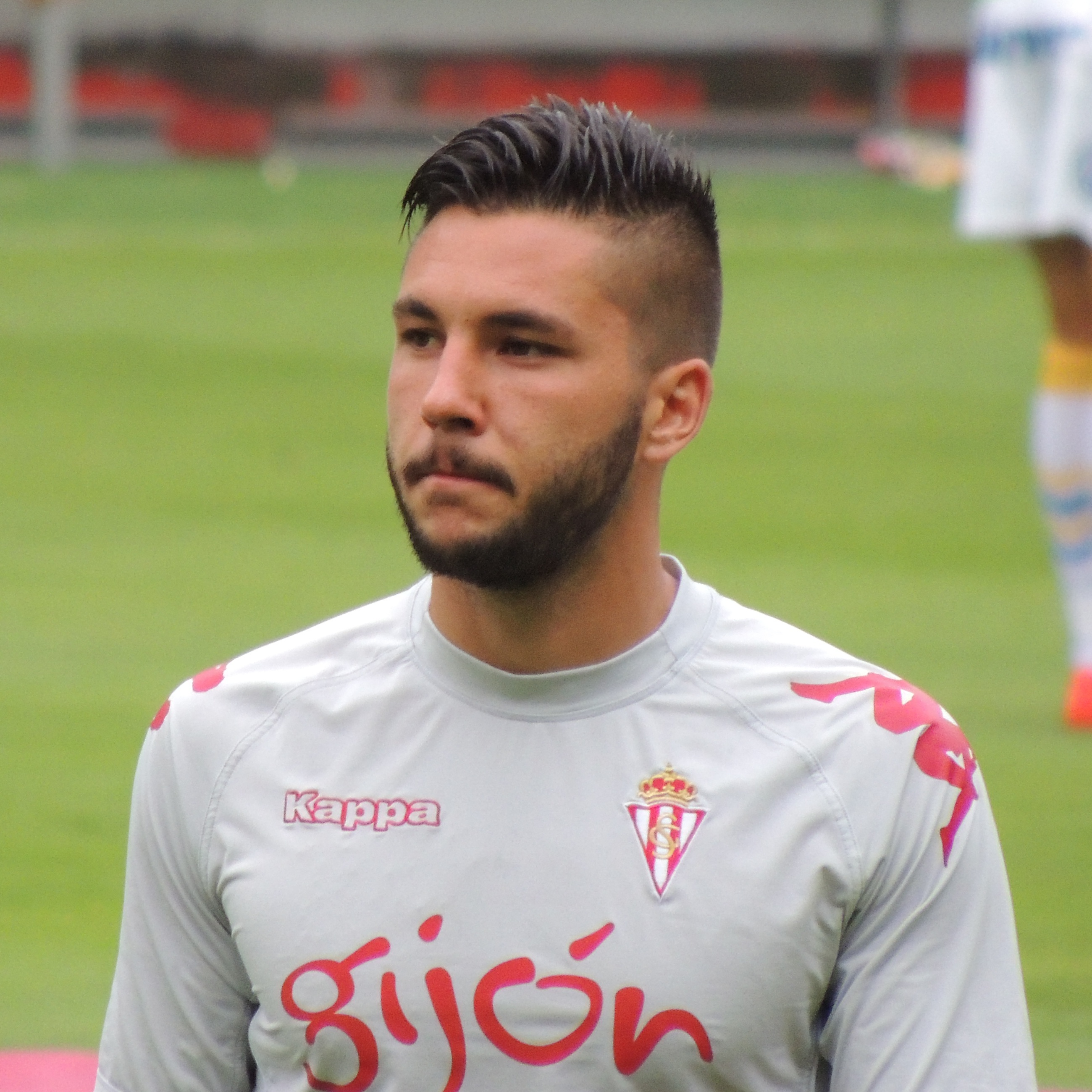 Guerrero with [[Sporting de Gijón|Sporting]] in 2014