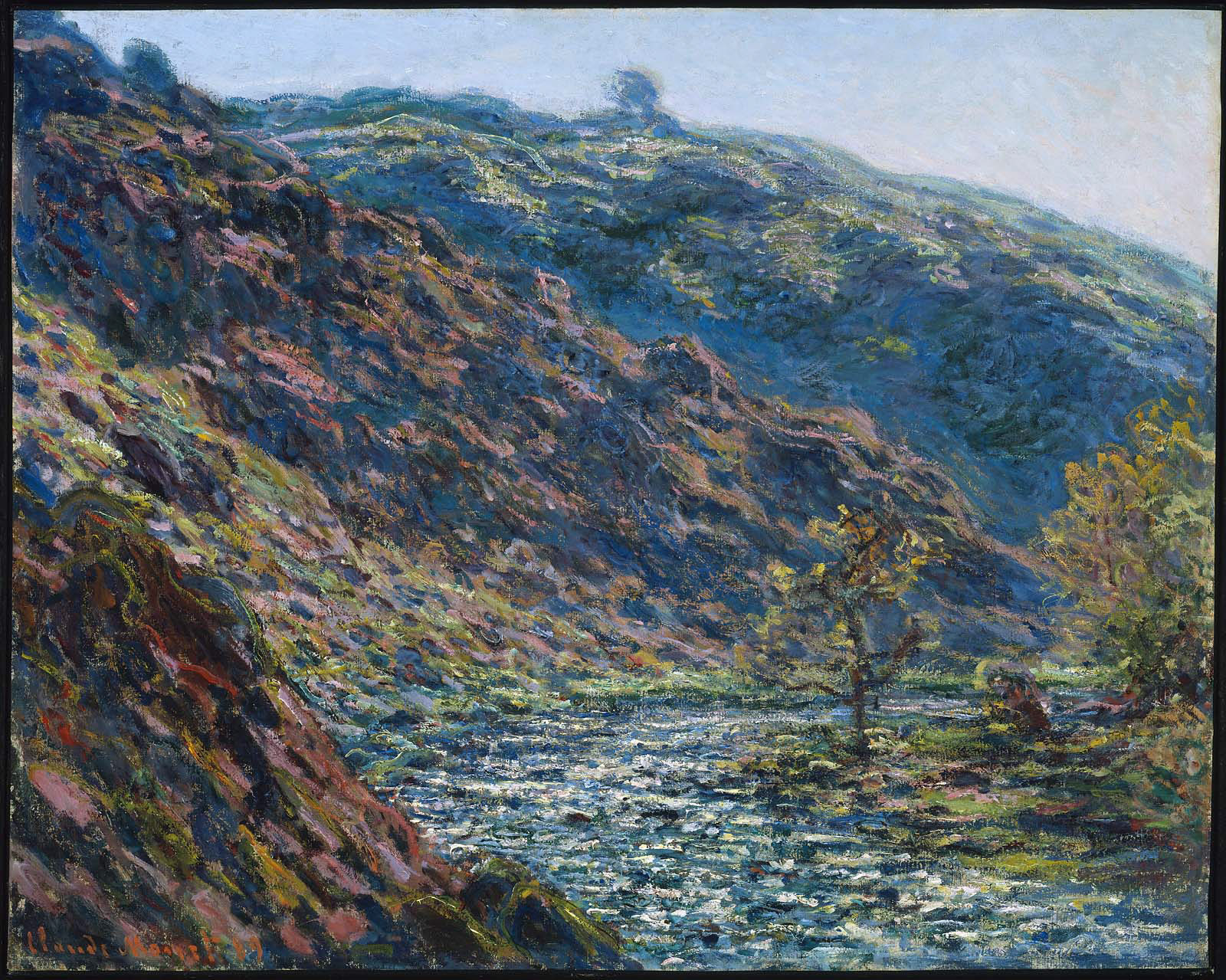 File:Monet - Valley of the Petite Creuse, 1889.jpg - Wikimedia Commons