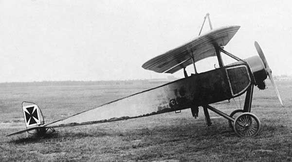 Fichier:Morane-Saulnier Type L - Captured with german insigna.jpg