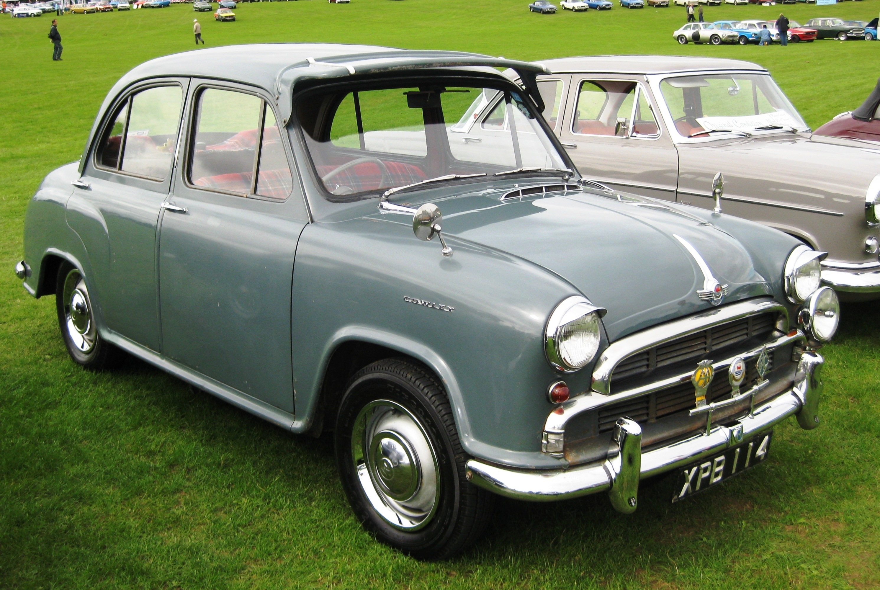 Una Morris Cowley Del 1955