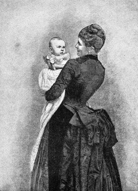 File:Mother Holding Baby Drawing.jpg - Wikimedia Commons
