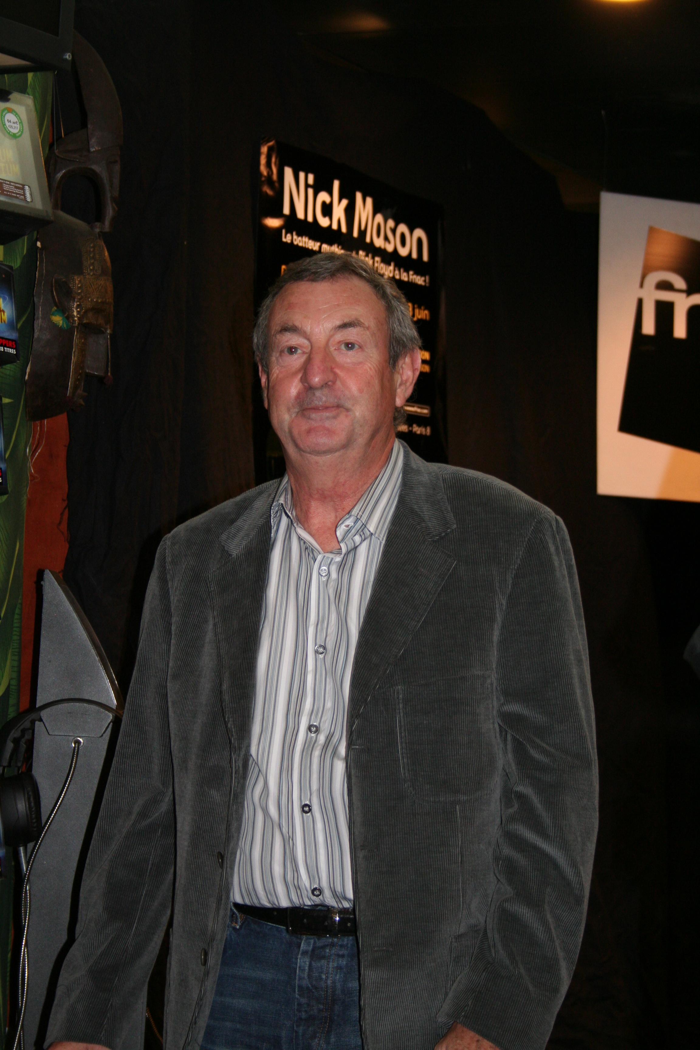 Depiction of Nick Mason