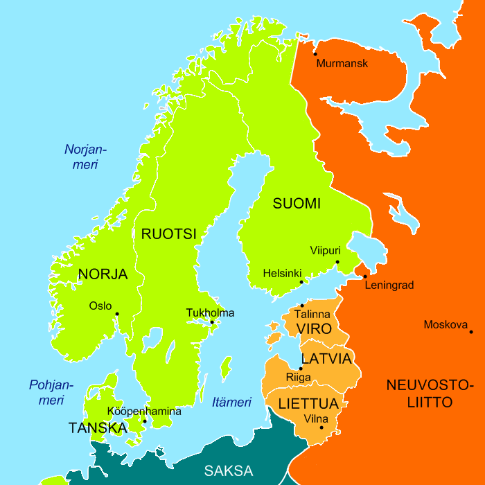 File northern europe november 1939 for Europe in november