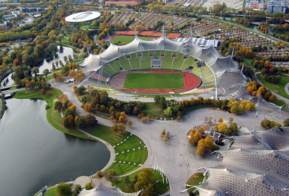 1972 Munich Olympic Stadium