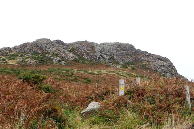 One of the paths to Carn Llidi from Upper Porthmawr Farm - geograph.org.uk - 1529863