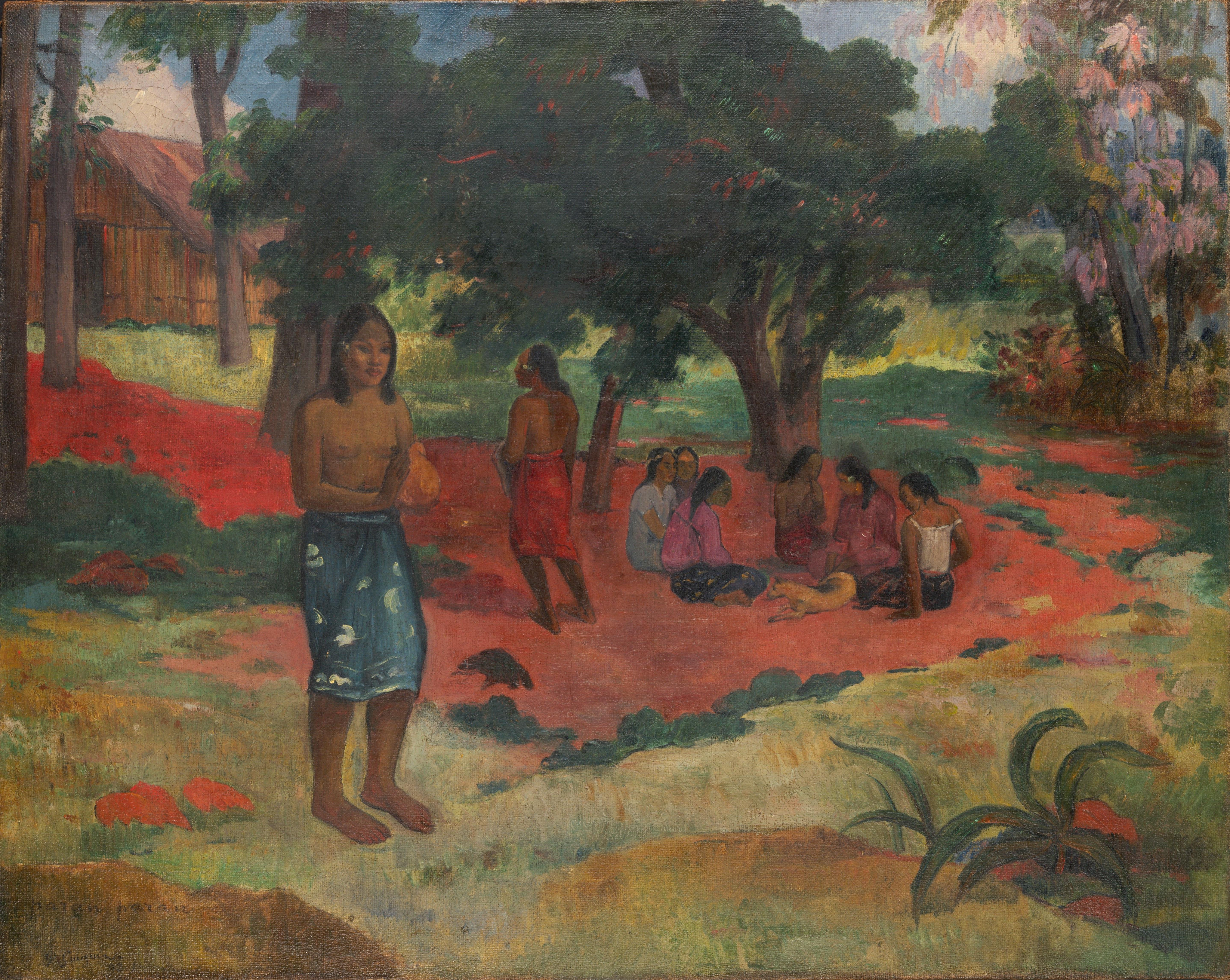 FileParau Parau Whispered Words By Paul Gauguin 1892jpeg